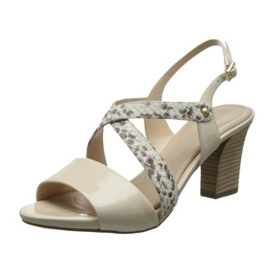 美国乐步(Rockport) Women's Seven To Cross Band Dress Sandal #Python Print