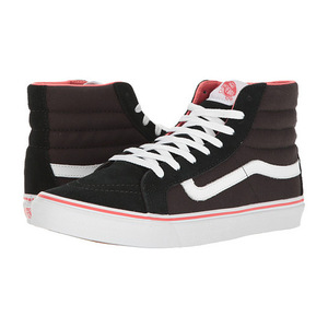 万斯 SK8Hi Slim #Pirate BlackTrue 白色 #Pirate Black/True White