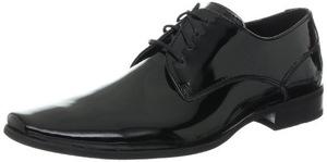 卡尔文·克雷恩(Calvin Klein) 卡尔文克莱恩-男式Brodie亮黑色牛津皮鞋 #Black Patent