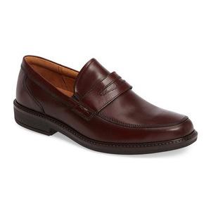 爱步 男士乐福鞋 #Rust