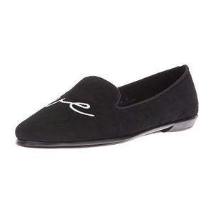 爱柔仕(Aerosoles) Womens Betunia 一脚蹬乐福鞋 #黑色 Lv #Black Lv