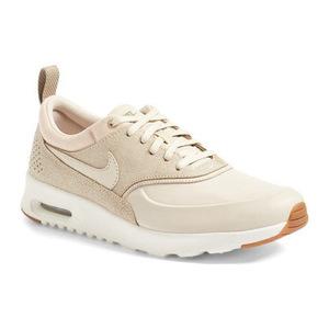 耐克(NIKE) Air Max Thea 运动鞋女士 #灰白色 Sail 卡其色 #Oatmeal/ Sail/ Khaki