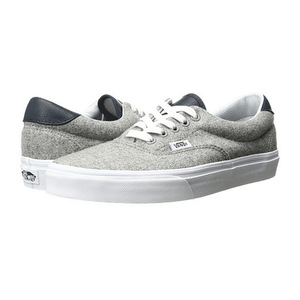 万斯(Vans) Era 59 #Varsity GrayTrue 白色 #(Varsity) Gray/True White