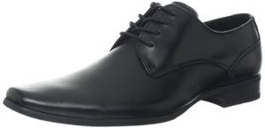 卡尔文·克雷恩(Calvin Klein) 卡尔文克莱恩-男式Brodie黑色牛津皮鞋 #Black