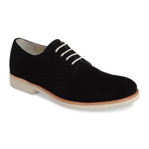 卡尔文·克雷恩 男士正装牛津皮鞋 #Black