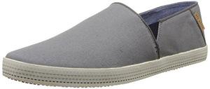 泰德贝克(Ted Baker) 泰德·贝克-男式Leeno灰色无鞋带休闲鞋 #Grey