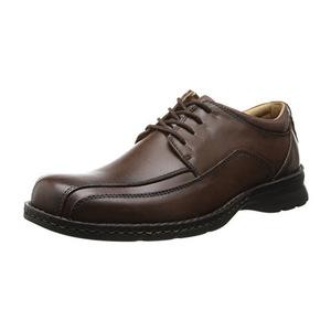 道格斯(Dockers) 男式Trustee深褐色牛津休闲皮鞋 #Dark Tan