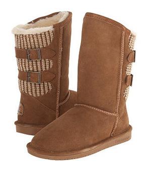 熊掌(Bearpaw) 女士靴子 #Hickory