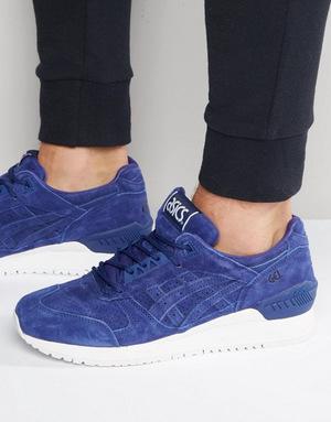 亚瑟士(Asics) 男士马丁靴 #Blue