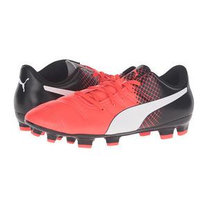 彪马(PUMA) 男士运动鞋 #Red Blast/Puma White/Puma Black