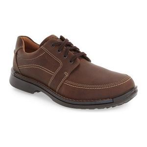 爱步 男士皮鞋 #Brown Leather