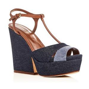 Sergio Rossi 女士凉鞋 #Light Blue