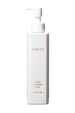 日本HACCI 1912花绮 蜂蜜卸妆乳190ml 可以护肤的卸妆乳 温和舒适伴有蜂蜜牛奶的香气