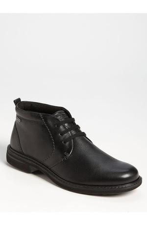 爱步 男士休闲靴 #Black