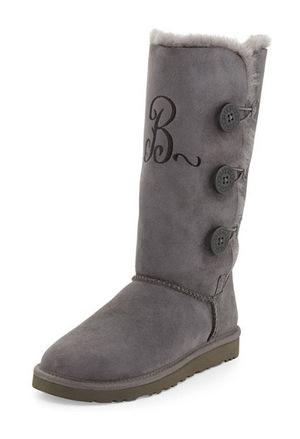 UGG 女士保暖冬靴 #GREY