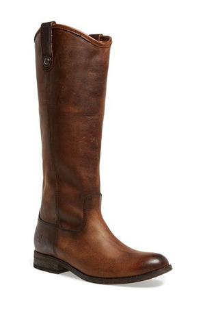 飞跃(Frye) 女士马靴 #Dark Brown/ Dark Brown