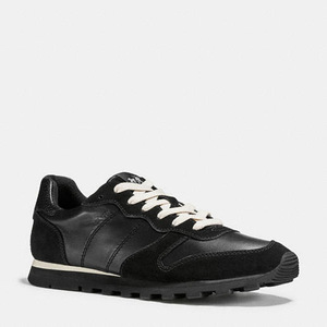 蔻驰(Coach) 女士休闲鞋 #BLACK/BLACK
