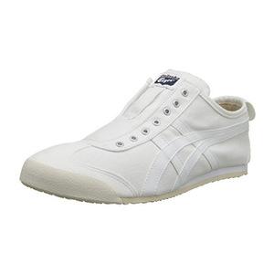 鬼冢虎(Onitsuka Tiger) 女士休闲鞋 #White/White