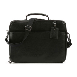 Kenneth Cole New York Get The Porty Started 真皮公文袋 #黑色 #Black