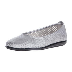 爱柔仕(Aerosoles) 女士平底鞋 #Silver/Metallic