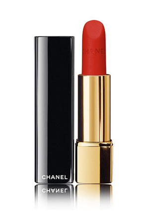 香奈儿(Chanel) 【秋季唇膏新色号 偏橘的枫叶红 搭配冬天穿大衣带墨绿围巾】秋季唇膏 #57 #57 Rouge Feu
