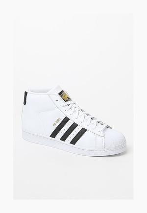 阿迪达斯(Adidas) 高帮鞋 #WHITE/BLACK