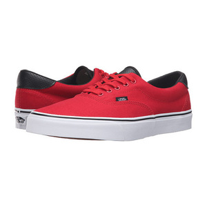 万斯(Vans) Era 59 #C P Racing RedBlack #(C&P) Racing Red/Black