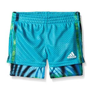 阿迪达斯(Adidas) 女童运动短裤 #Green