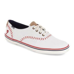 Keds® 女士帆布鞋 #Phillies