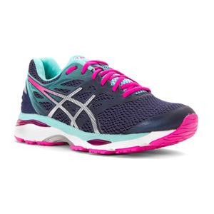 亚瑟士(Asics) 跑步鞋 #Indigo Blue/Silver/Pink Glow