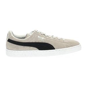 彪马(PUMA) Mens 麂皮 Classic+M Fashion 运动鞋 #Gray Violet 黑色 #Gray Violet-puma Black