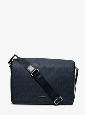 迈克高仕(Michael Kors) Jet 套装大号 Logo Messenger #BALTIC 蓝色 #BALTIC BLUE