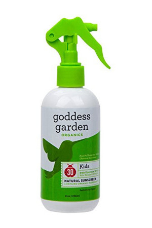 Goddess Garden Organics Kids SPF 30 原色 Sunscreen #Trigger Spray