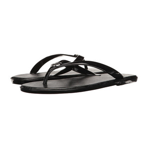 MICHAEL Michael Kors 女士休闲凉鞋 #Black PVC/Mini MK Logo PVC