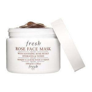 Fresh® 【达人孕期同款】Fresh天然玫瑰花瓣补水保湿面膜100ml