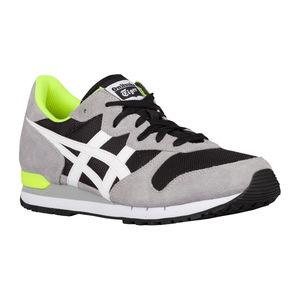 鬼冢虎(Onitsuka Tiger) 男士休闲运动鞋 #White/Black | Width - D - Medium