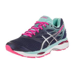 亚瑟士 跑步鞋 #Indigo Blue/Silver/Pink Glow