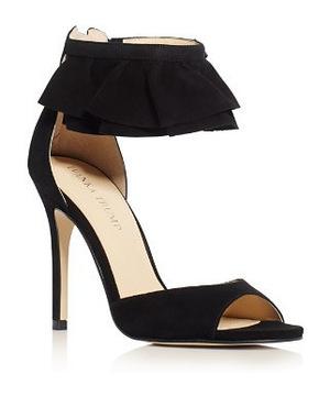 伊万卡·特朗普 女士高跟凉鞋 #Black