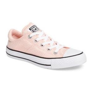 匡威 女士帆布鞋 #Vapor Pink/ Black/ White