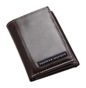 汤米·希尔费格(Tommy Hilfiger) 男士折叠钱包 #Brown