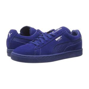 彪马(PUMA) 男士运动鞋 #Mazarine Blue/Puma Silver