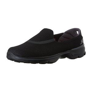 斯凯奇 女士一脚蹬健步鞋 #Black