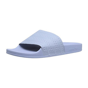 阿迪达斯(Adidas) Originals Mens Adilette Athletic Sandal #Easy 蓝色 Easy 蓝色 Easy 蓝色 S #Easy Blue Easy Blue Easy Blue S