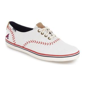 Keds® 女士帆布鞋 #Atlanta Braves