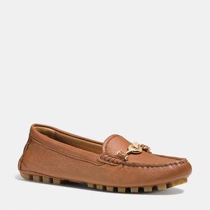 蔻驰(Coach) 女士软皮平底鞋 #SADDLE