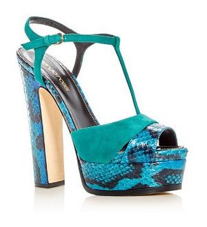 Sergio Rossi 女士女士凉鞋 #Green