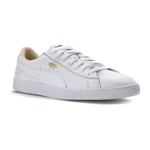 彪马(PUMA) Basket男士休闲运动板鞋 #White/White