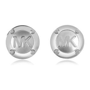 迈克高仕(Michael Kors) Heritage MK Logo 耳钉 #银色 #Silver