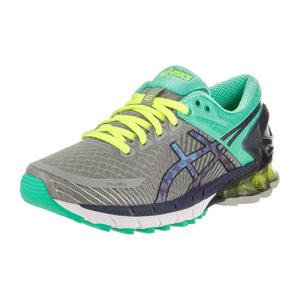 亚瑟士 跑步鞋 #Light Grey/Titanium/Mint