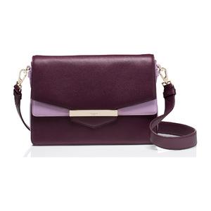 凯特·丝蓓(Kate Spade) 女士单肩包 #Mahogany/lilac petal